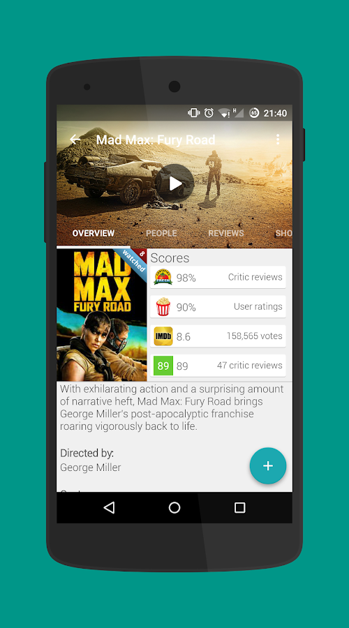 Movie Mate Pro- screenshot