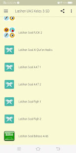 Latihan Soal UAS/PAT Kelas 3 SD - náhled