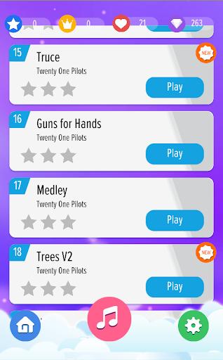 Twenty One Pilots Piano Tiles android2mod screenshots 4