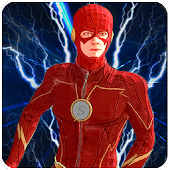 Superhero Flash Hero:flash speed hero- flash games