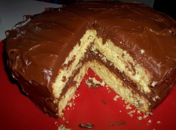 Yellow Cake - One Bowl Recipe