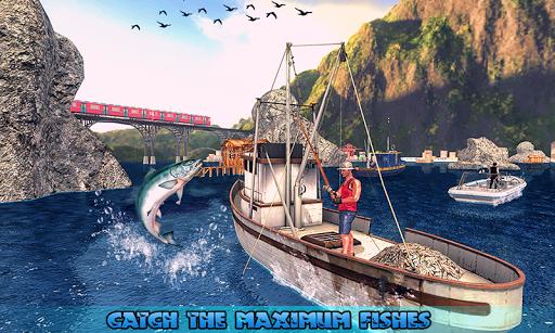 Fishing Ship Simulator 2019 : Fish Boat Game download 1
