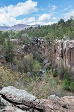 Photo: Pueblo Canyon bridge