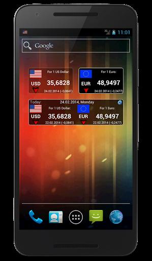 Currency rates of CB RF (Mini) screenshot 6