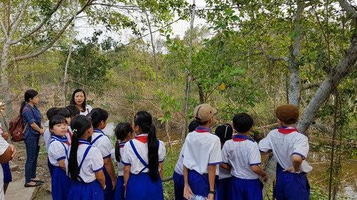 Vườn quốc gia U Minh Thượng, sinh hoạt ngoại khóa 3