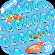 3D Lovely Fish Keyboard
