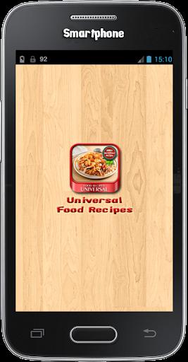 Universal Food Recipes