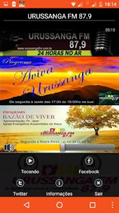 URUSSANGA FM 87.9 - náhled