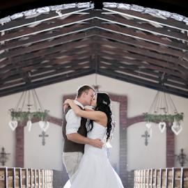 In the Doorway by Lood Goosen (LWG Photo) - Wedding Bride & Groom ( wedding photography, wedding photographers, wedding day, weddings, wedding, bride and groom, wedding photographer, bride, groom, bride groom )