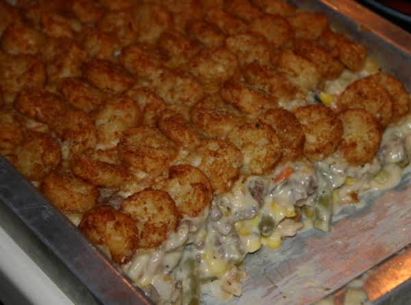 Tater Tot Hotdish With Flavor Recipe