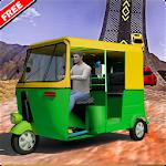 Tuk Tuk Auto Rickshaw Extreme Stunts Driver Icon