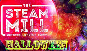 Halloween Party Time at Steam Mill