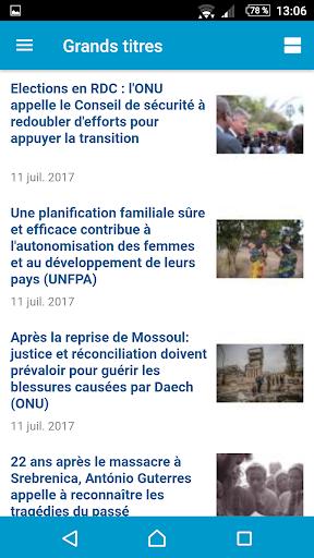 UN News Reader  screenshots 6