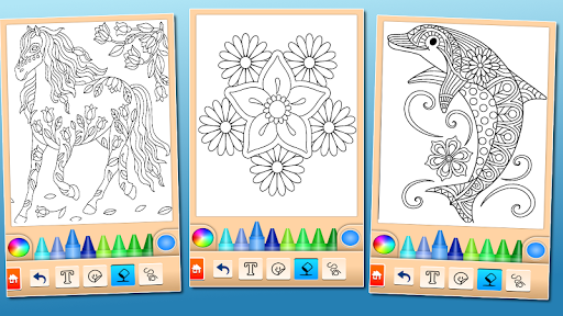 Coloring game for girls and women 14.6.2 Screenshots 14