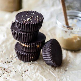 Toasted Quinoa Cashew Butter Cups.