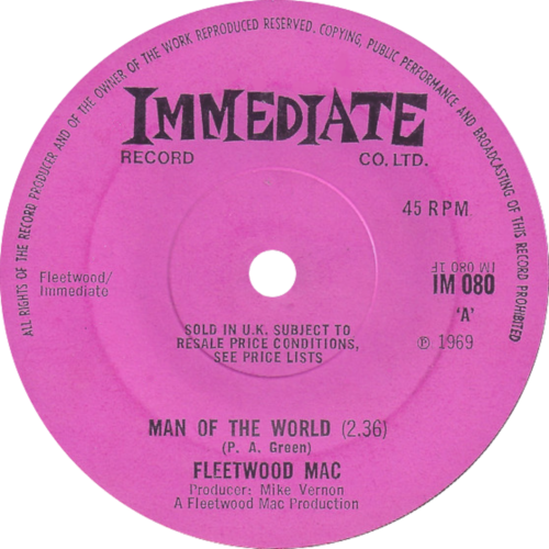 Single: Man of the World