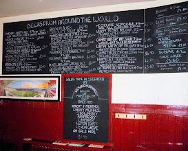 Photo: snuff list at New York Tavern