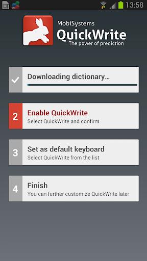 OfficeSuite QuickWrite screenshot 9