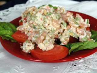 Savory Summer Seafood Salad Recipe
