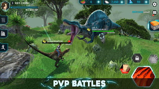 Télécharger Gratuit Dino Tamers - Jurassic Riding MMO apk mod screenshots 2