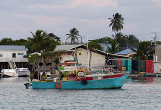 Photo: This is the kooky boat that does booze cruises out of the Lazy Lizard.