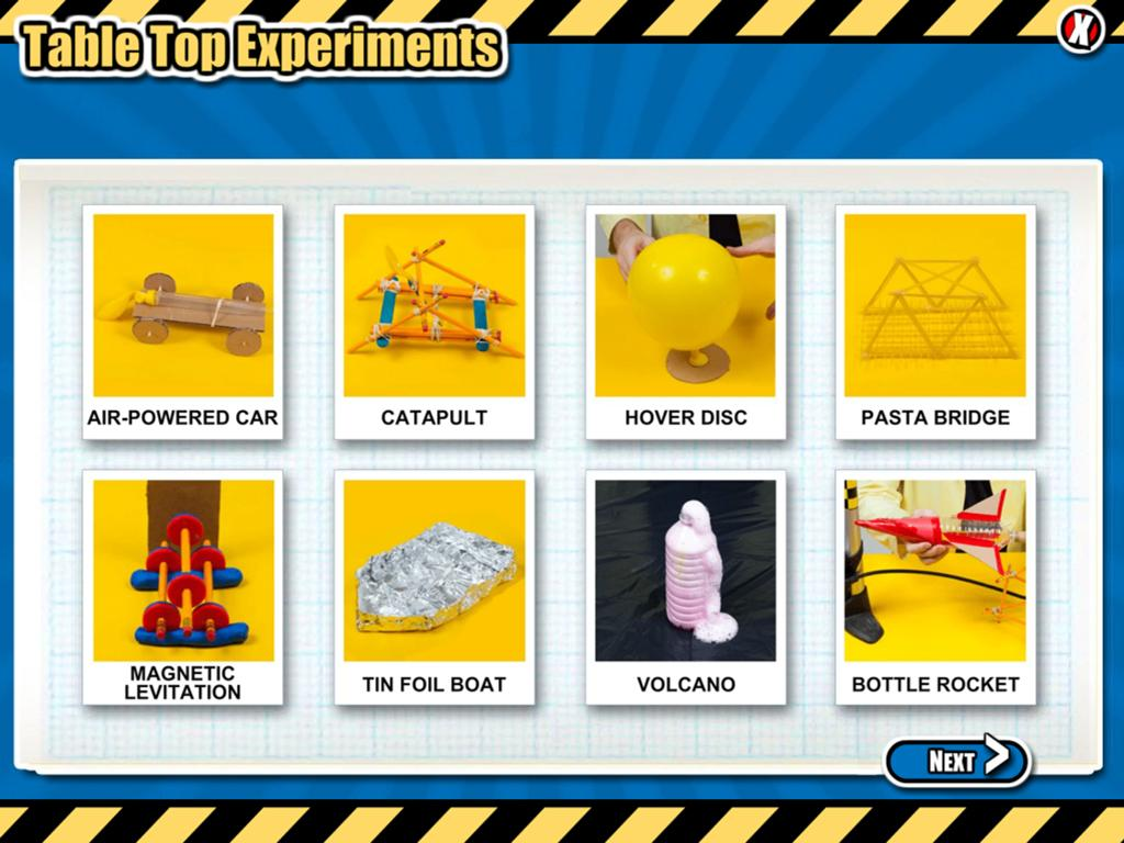 Science Max Experiments- screenshot