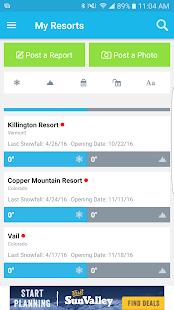 OnTheSnow Ski & Snow Report Screenshot 1