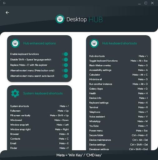 Desktop Hub for Samsung DeX 2.44 screenshots 2