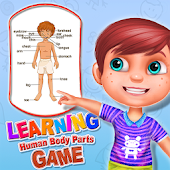 Learning Human Body Parts Game