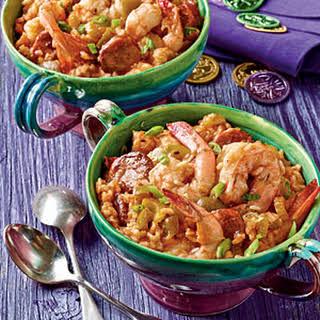 Shrimp-and-Sausage Jambalaya.