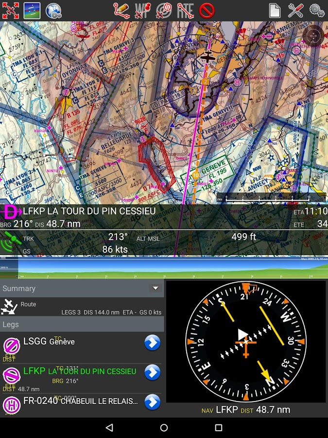 Air Navigation Pro- screenshot