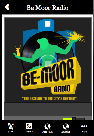 Be Moor Radio- screenshot