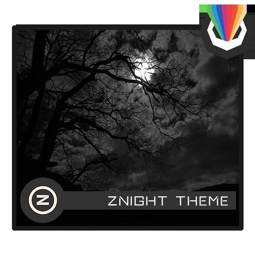 zNight Darh Theme For Xperia