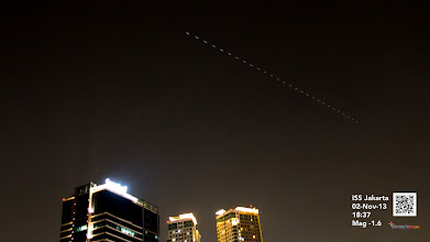 Photo: Jakarta ISS 02 Nov 2013 18:37 Jakarta