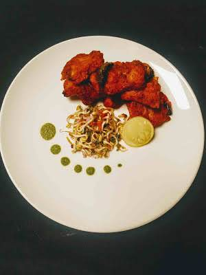 Spicy Fish Tikka Made By Using Spiced Yoghurt Based Marination.