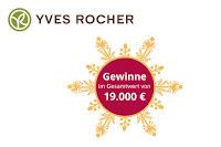 Angebot für Yves Rocher Adventskalender Gewinnspiel im Supermarkt