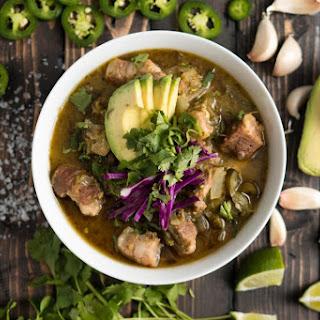 Spicy Pork Chile Verde Stew Recipe