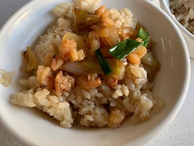無名蝦仁飯鮢𩼣魚湯