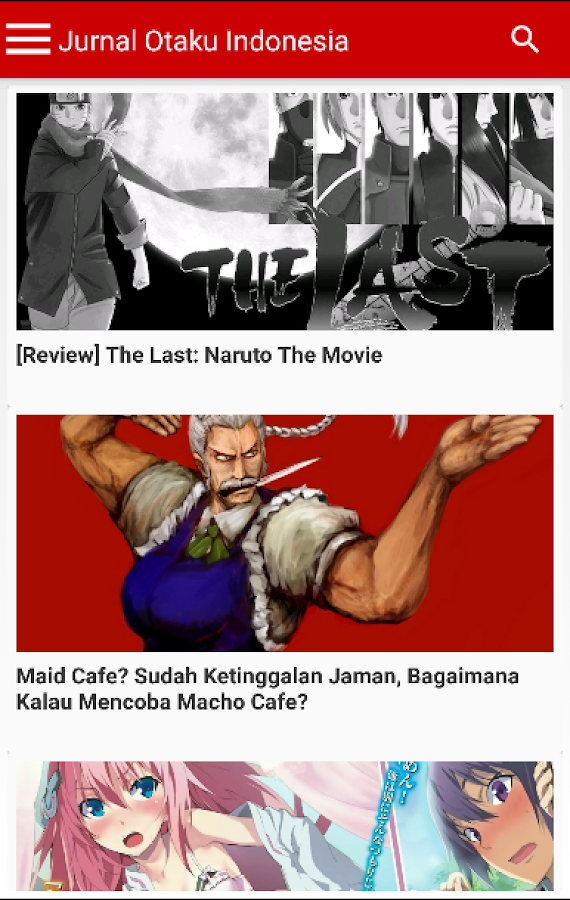 Jurnal Otaku Indonesia- screenshot