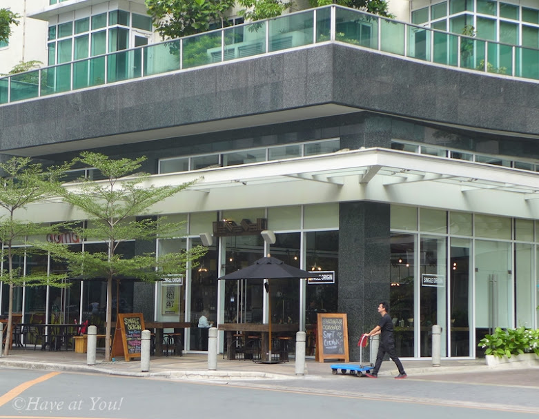 Single Origin storefront