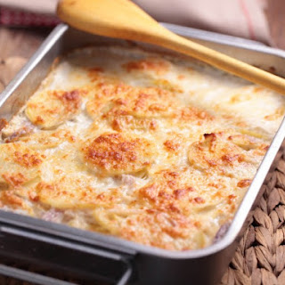 Au Gratin Potatoes for 50