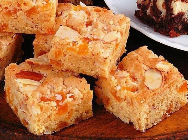 Apricot Angel  Brownies Recipe