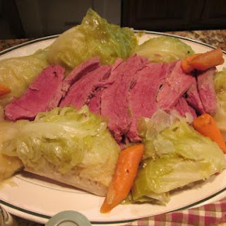 Homestyle Corned Beef and Cabbage