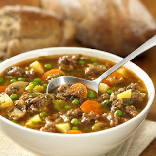 Mixed Mince and Paprika Soup