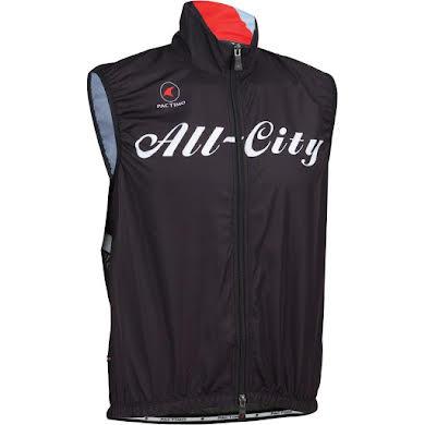 All-City Team Men's Vest: Black/Red/Blue