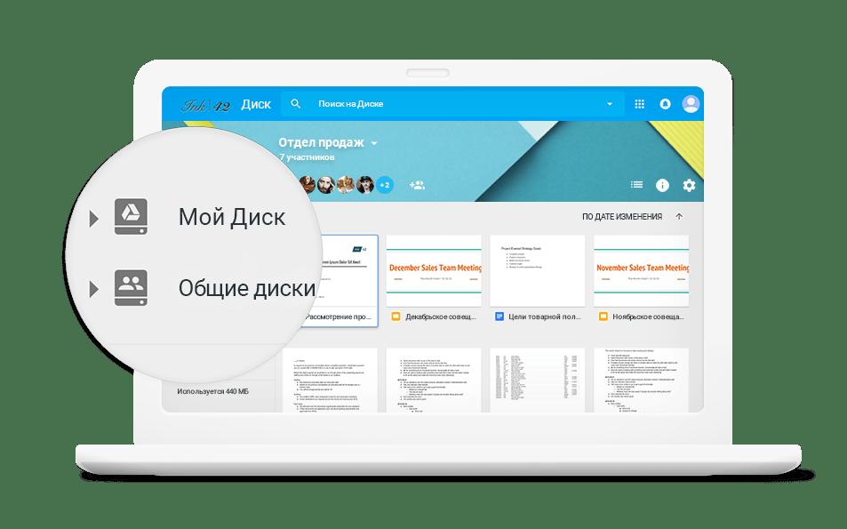 Приложения для работы с Диском