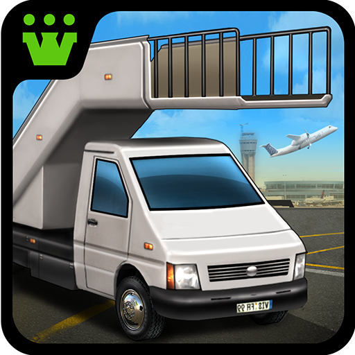 Airport Cargo Parking Icon