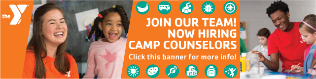 Click banner for more details on becoming a Summer Camp Counselor!
