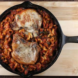 Baked Pork Chop Goulash.