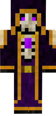 So I saw that people have imitation skins out there - not good enough! Since I made the original skin, here's Spooky Steve for you all. - Berym